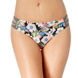 California Waves Hibiscus Punch Strappy Bottom